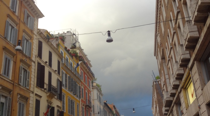 Italia in 40: Day 36…More Rain and the Spanish Steps!