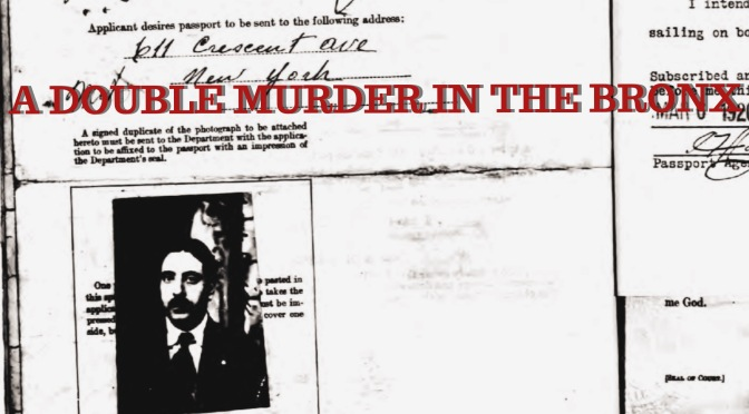 Un Duplice Omicidio: Murder, Politics, and Immigration in the Bronx