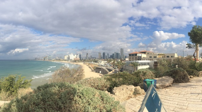 One Down, Three to Go: Tel Aviv-Jaffa!
